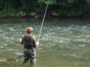 P6010461 300x225 Pêche de la truite et de lombre.