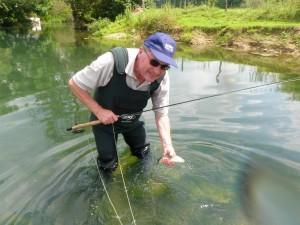P62800271 300x225 Stage dinitiation ou de perfectionnement de pêche à la mouche