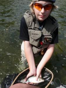 P1011765 225x300 Stage pêche mouche jeunes adolescents