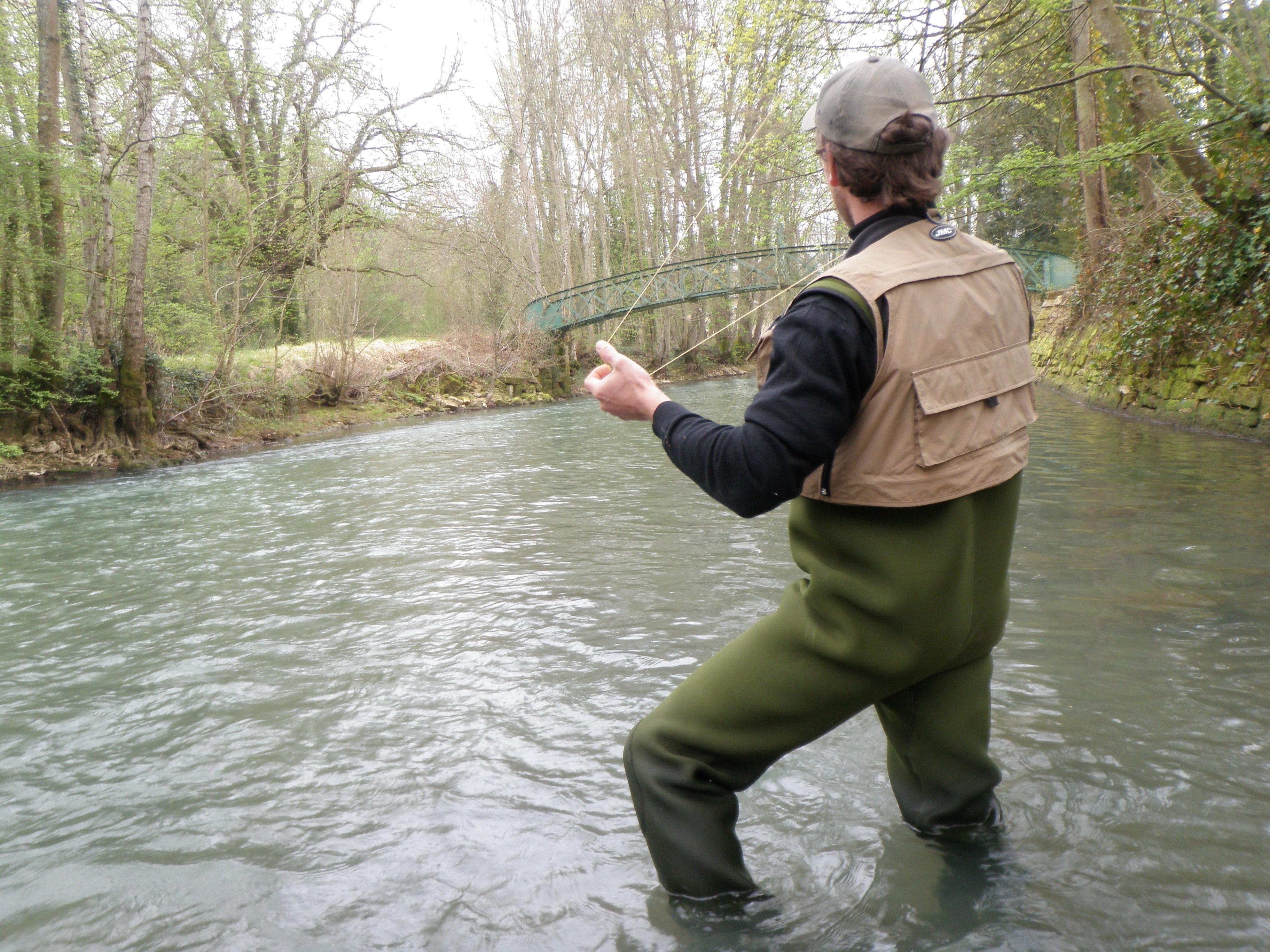 peche mouche noyee technique