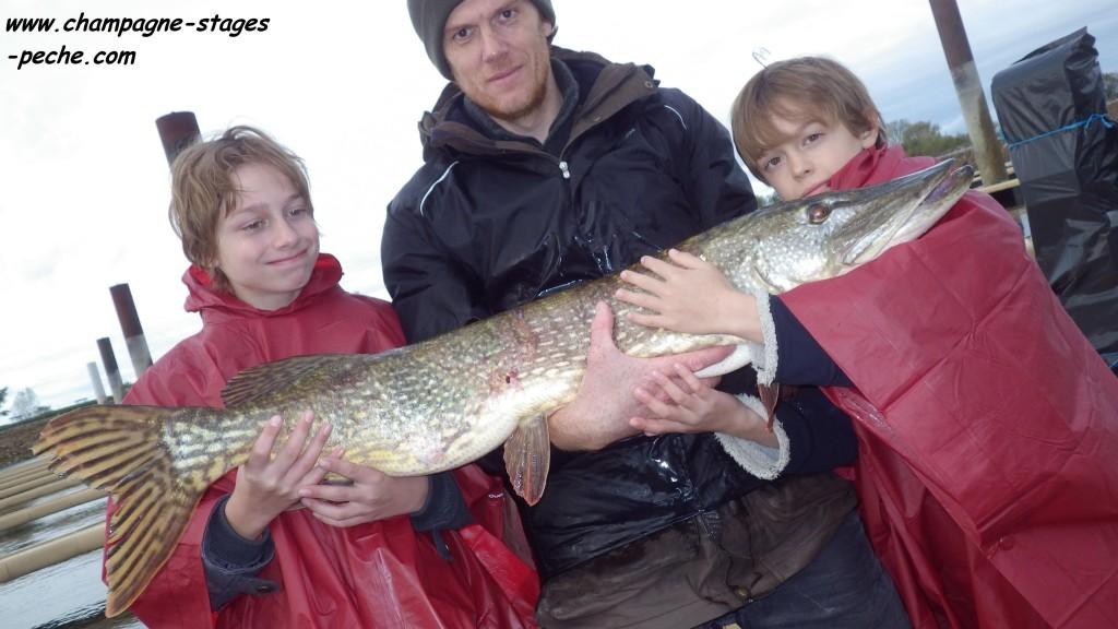 118 cm Franck Gaspard Emilien www 1024x576 Séjour de pêche au Lac du Der Chantecoq