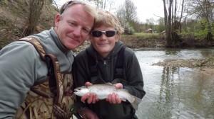 IMGP0189 300x168 Stage et séjour de pêche en famille de la truite