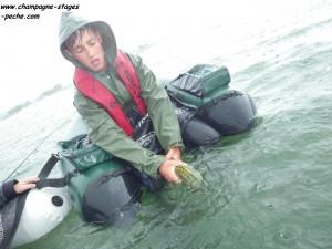 tristan www 300x225 Stage de pêche jeunes et ados en float tube