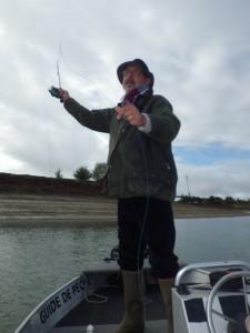 IMGP1557 225x300 Pêche mouche de la truite en bateau