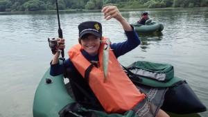 IMGP2315 300x169 Session de pêche, pour jeune au lac du Der