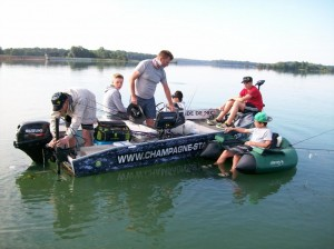 IMG 0327 300x224 Stage de pêche au lac de Madine