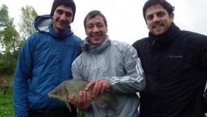 IMGP2612 300x169 Journée de pêche des carnassiers au Domaine du grand étang.