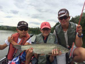 IMG 1652 300x225 Colonie de pêche au lac de la Madine