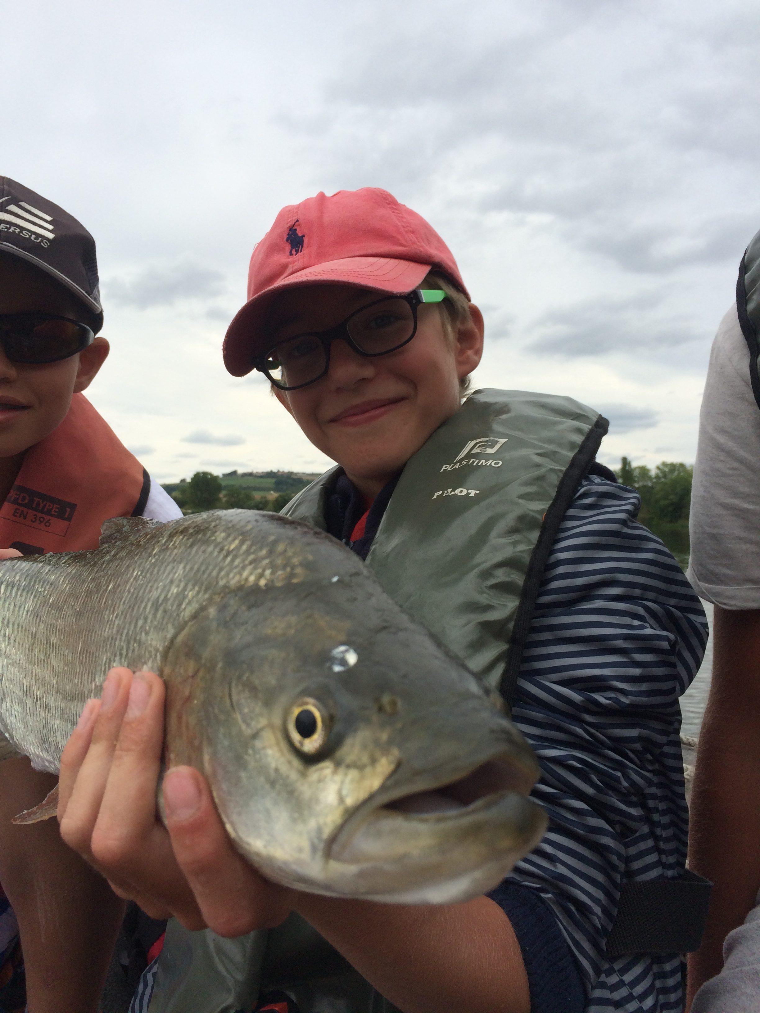 stage de pêche de l'aspe sur la Moselle